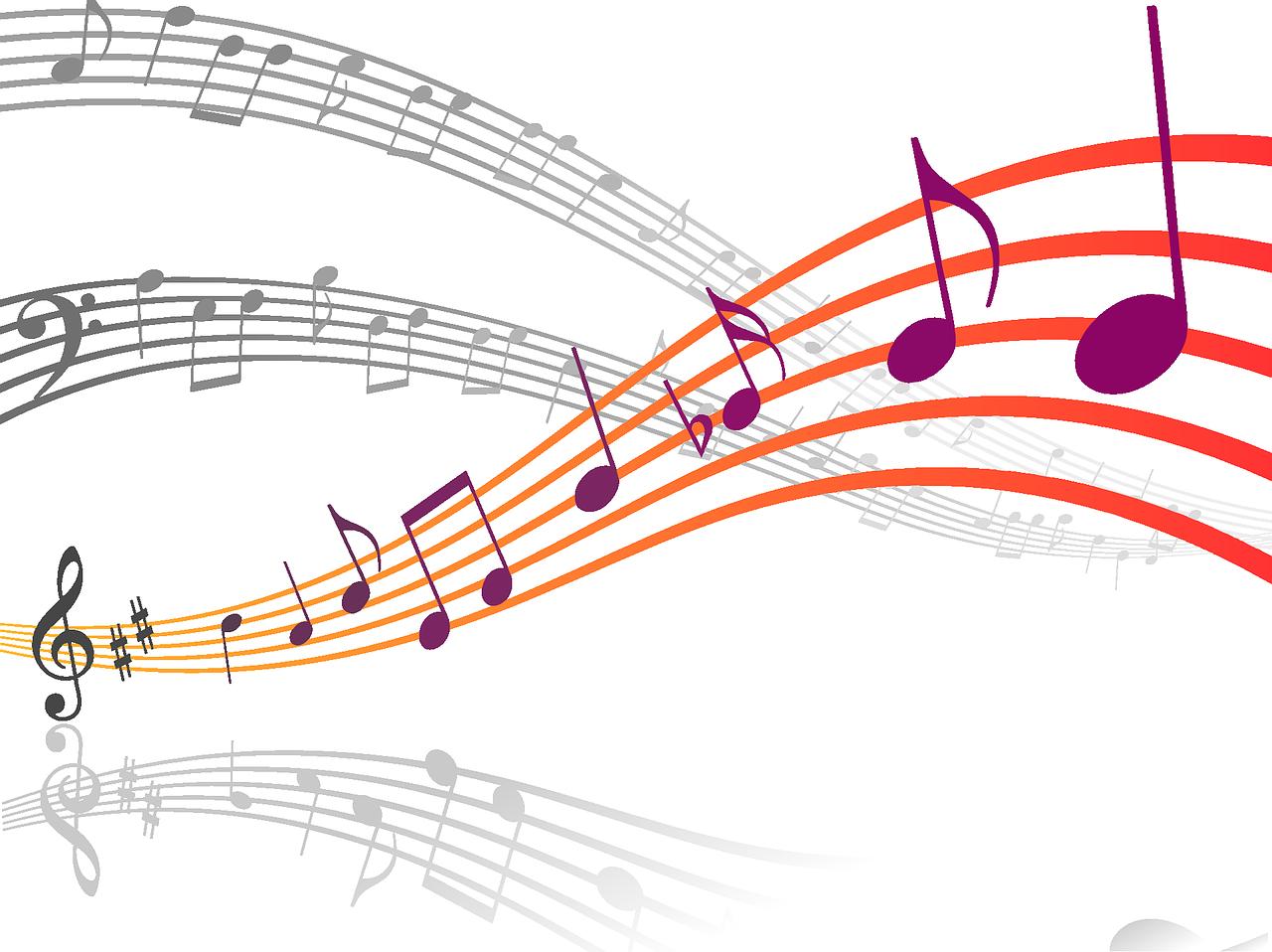 Resultado de imagen de notas musicales png COLUNGATEAM